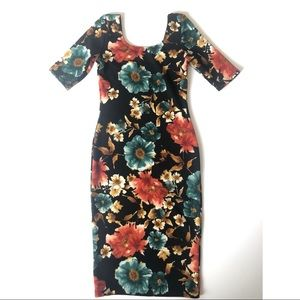 Sexy Floral Dress Size M